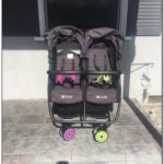 Used Zoe Double Stroller