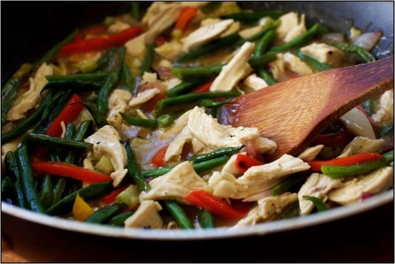 Vegetable Stir Fry Refrigerator