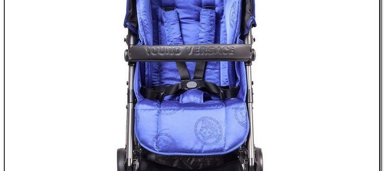Versace Stroller Blue