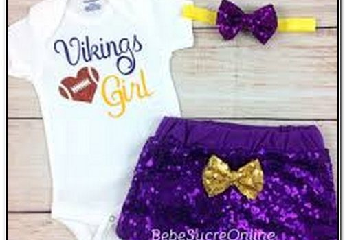 Vikings Baby Girl Clothes