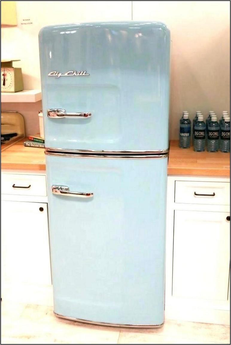 Vintage Looking Propane Refrigerator