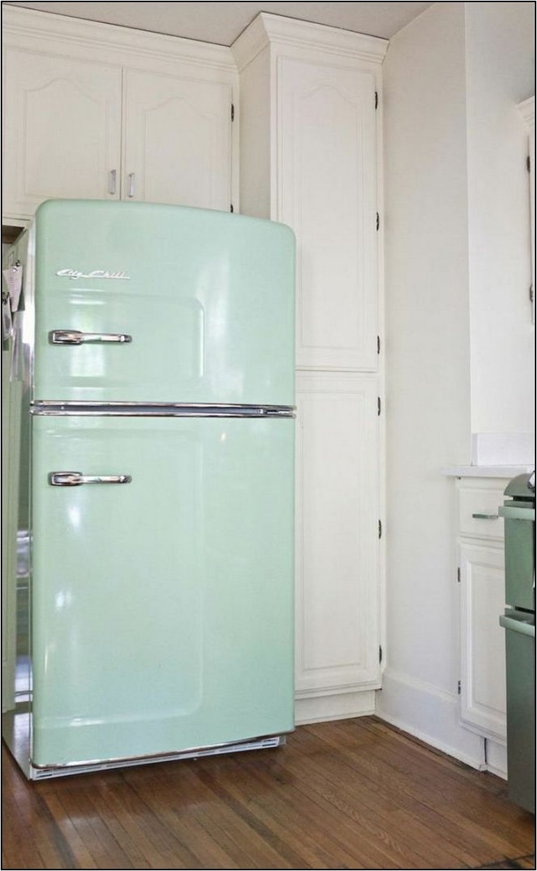 Vintage Looking Refrigerator