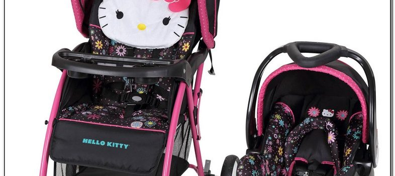 Walmart Hello Kitty Car Seat And Stroller