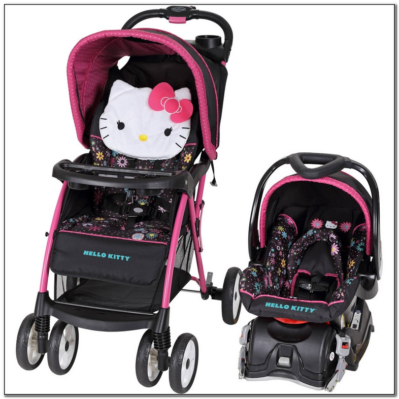 Walmart Hello Kitty Car Seat And Stroller