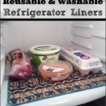 Washable Refrigerator Shelf Liners