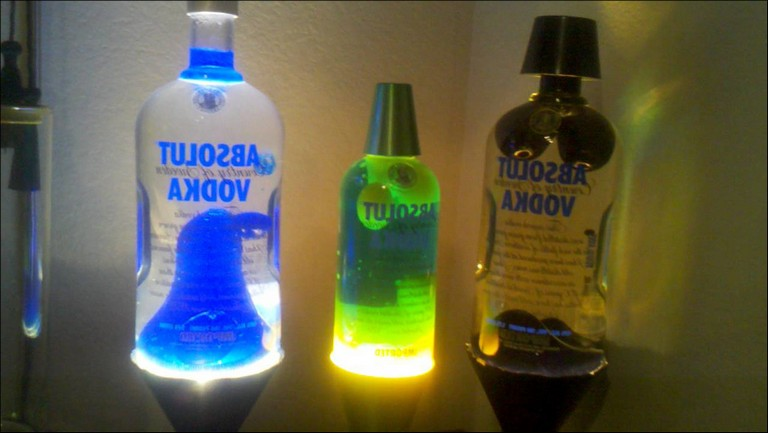 What Are Real Lava Lamps Made Of