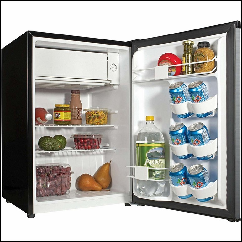 What Is The Standard Size For A College Refrigerator