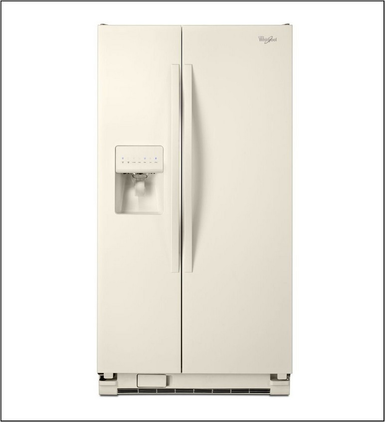 Whirlpool 24.5 Cu Ft Side By Side Refrigerator With Ice Maker (white)