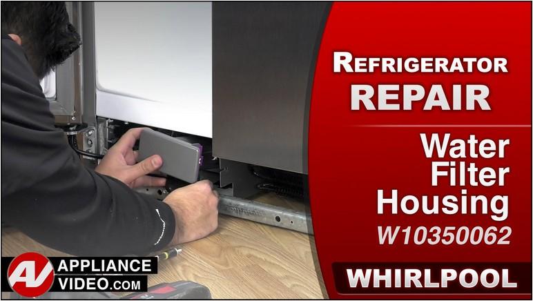 Whirlpool Gold Refrigerator Water Filter Leaking