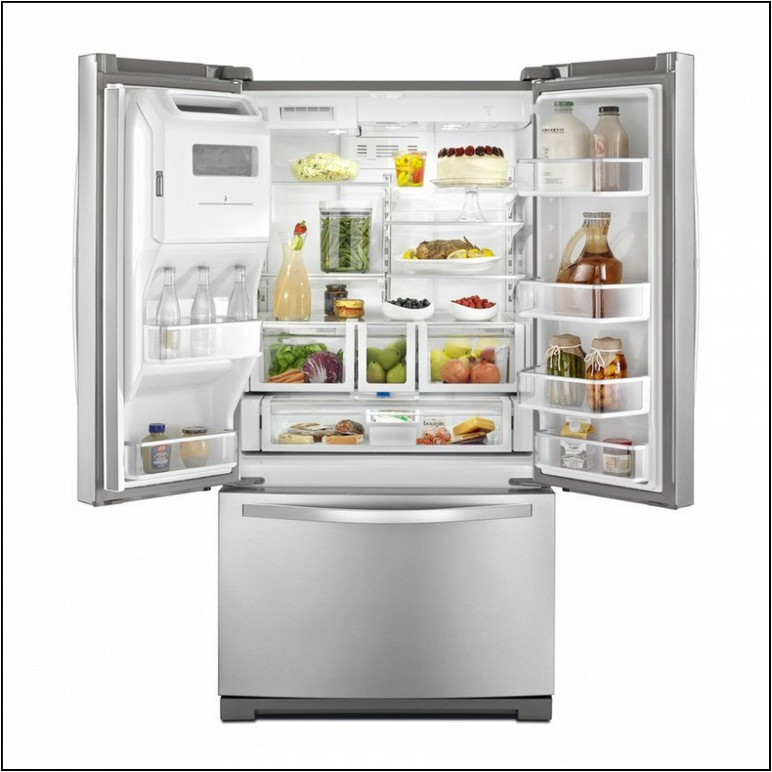 Whirlpool Stainless Steel Refrigerator Lowes