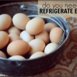Why Do Farm Fresh Eggs Not Need To Be Refrigerated