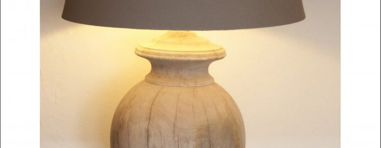Wooden Table Lamps Ebay
