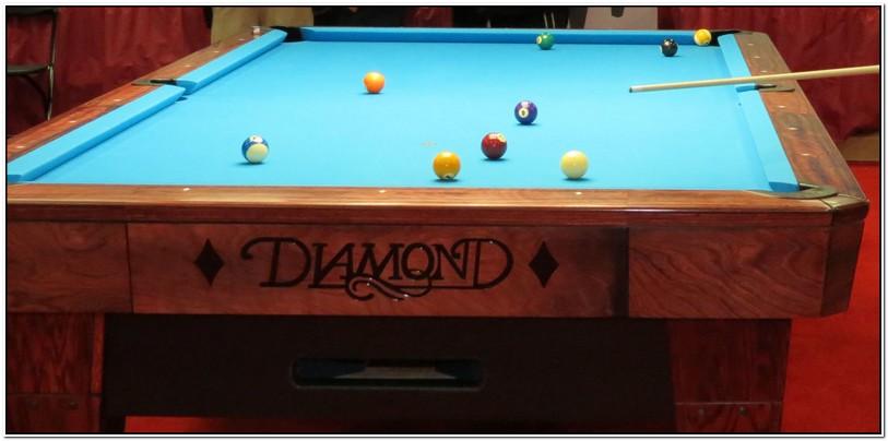 10 Foot Diamond Pool Table For Sale