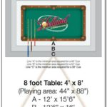 6 Foot Pool Table Dimensions