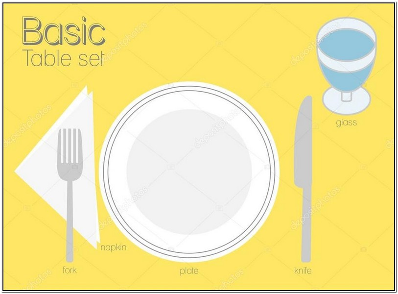 Basic Table Setting