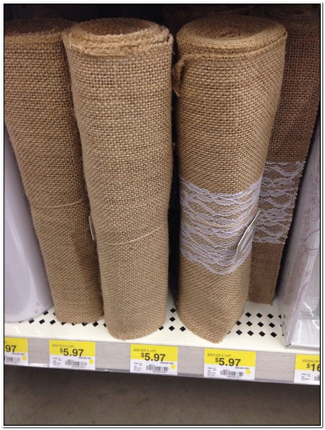 Burlap And Lace Table Runners Walmart