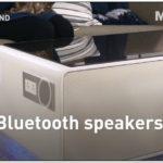 Coffee Table With Fridge Bluetooth Speakers