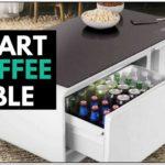 Coffee Table With Fridge Inside