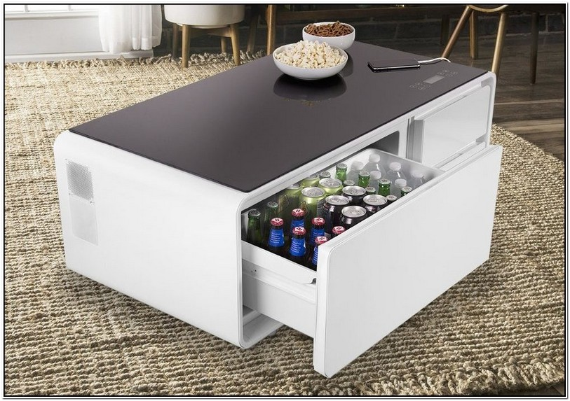 Coffee Table With Fridge Uk