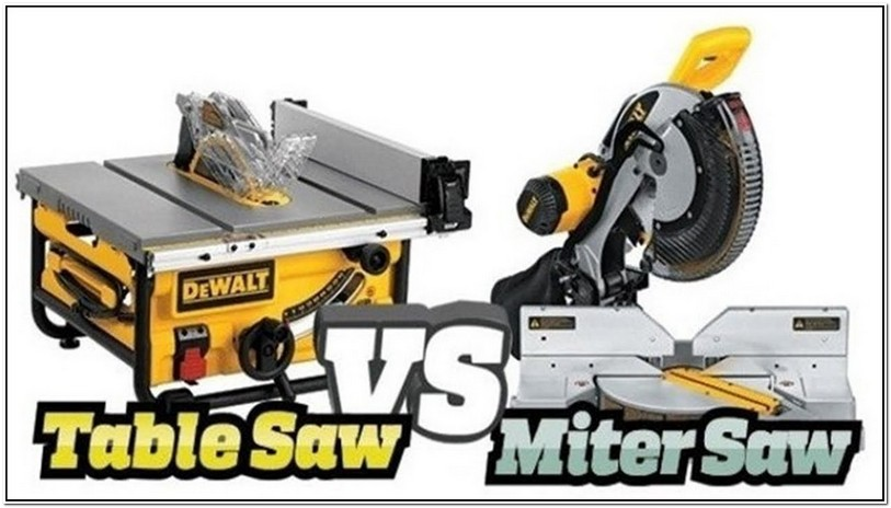 Compound Miter Saw Vs Table Saw