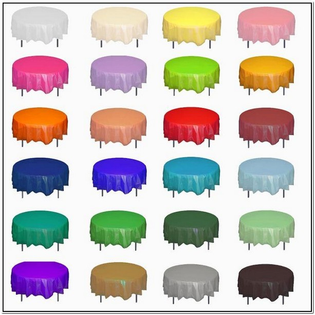 Disposable Round Tablecloths