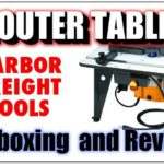 Harbor Freight Router Table Review