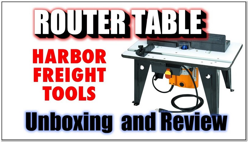 Harbor Freight Router Table Youtube