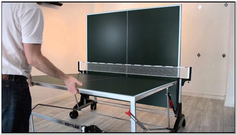 Kettler Ping Pong Table Setup
