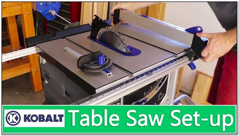 Kobalt Table Saw Dado Blade