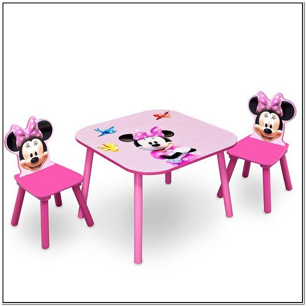 Minnie Mouse Table And Chairs Australia