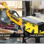 Miter Saw Vs Table Saw For Cross Cuts