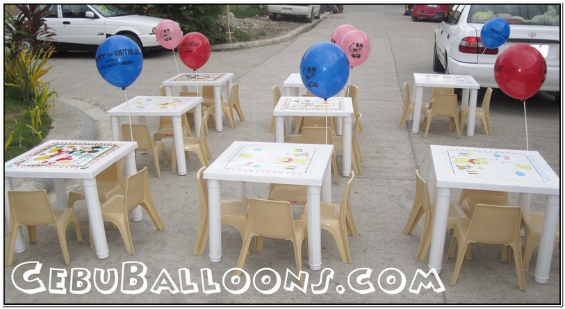 Party Tables And Chairs For Rent Cebu General