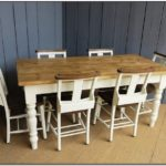 Pine Farmhouse Table And Chairs For Sale