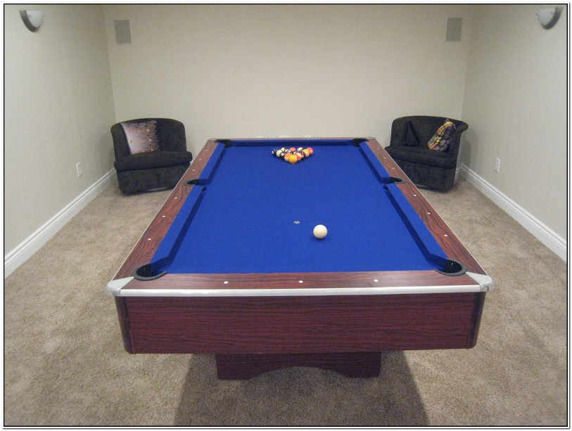 Pool Table Refelting