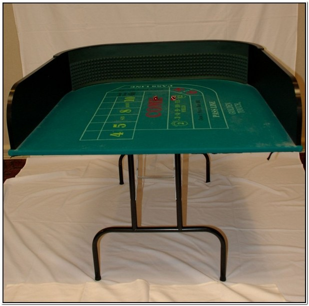 Practice Craps Table For Sale