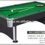 Regulation Pool Table Size U S