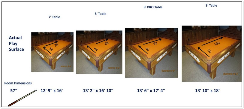 Regulation Size Pool Table For Sale