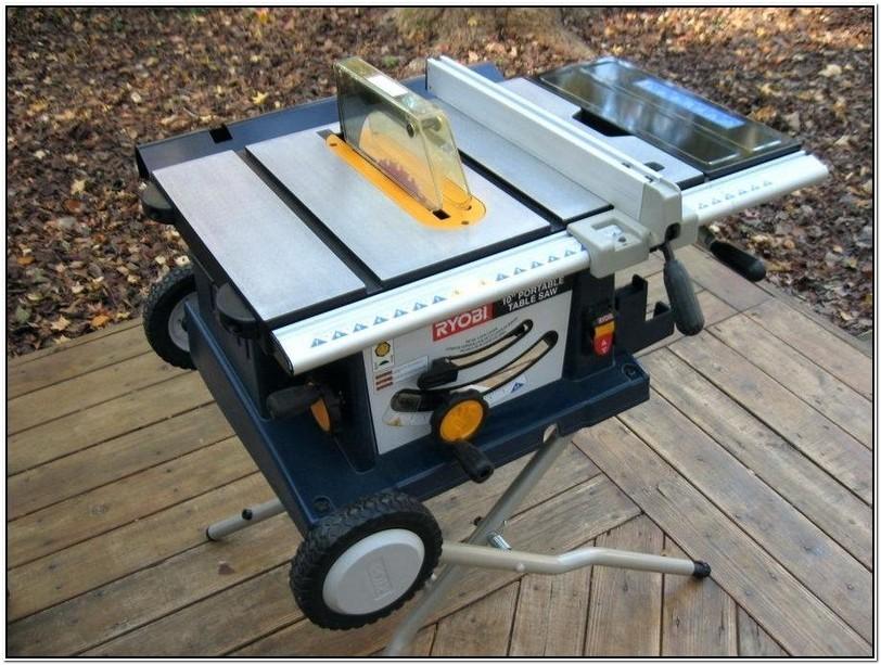 Ryobi Portable Table Saw Manual