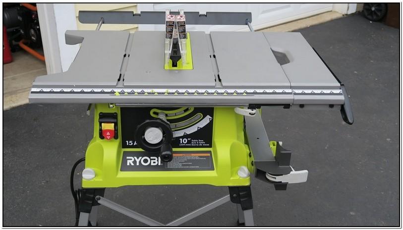Ryobi Portable Table Saw Review