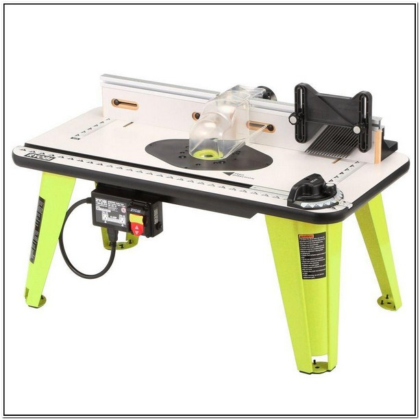 Ryobi Router And Table Combo
