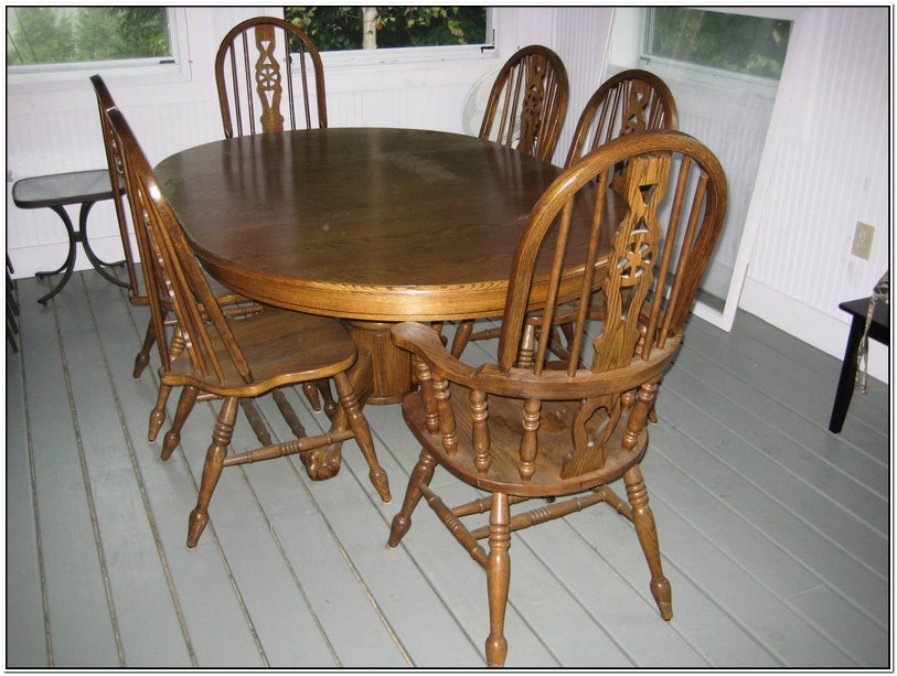 Second Hand Farmhouse Table And Chairs For Sale | Design ...
