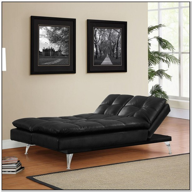 Serta Meredith Convertible Sofa Black