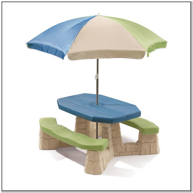 Step 2 Picnic Table Replacement Umbrella