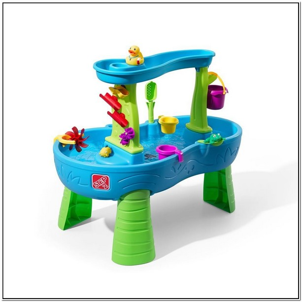 Step2 Rain Showers Splash Pond Water Table Amazon
