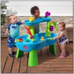Step2 Rain Showers Splash Pond Water Table With Umbrella