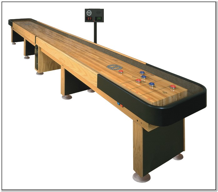 Table Shuffleboard Rules On The Line