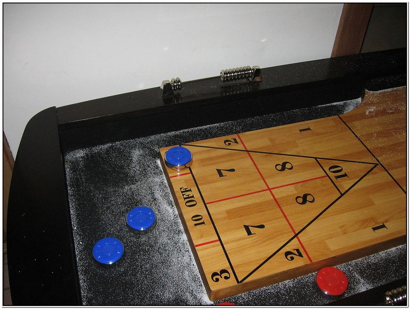 Tabletop Shuffleboard Rules