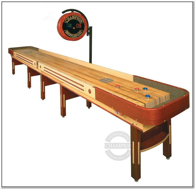 Used Shuffleboard Table Denver