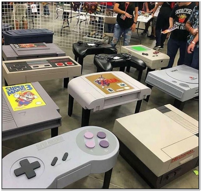 Video Game Coffee Table