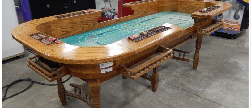 Vintage Craps Table For Sale